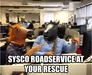 Sysco Roadservice at your rescue