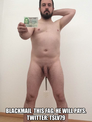 blackmail  this fag, he will pays. twitter: TSlv79